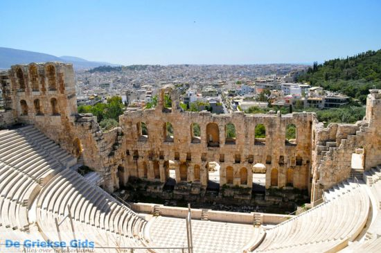 Herodes Atticus Theater Athene